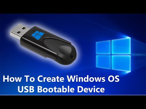 HOW TO CREATE WINDOWS 7 USB BOOTABLE DRIVE 2019