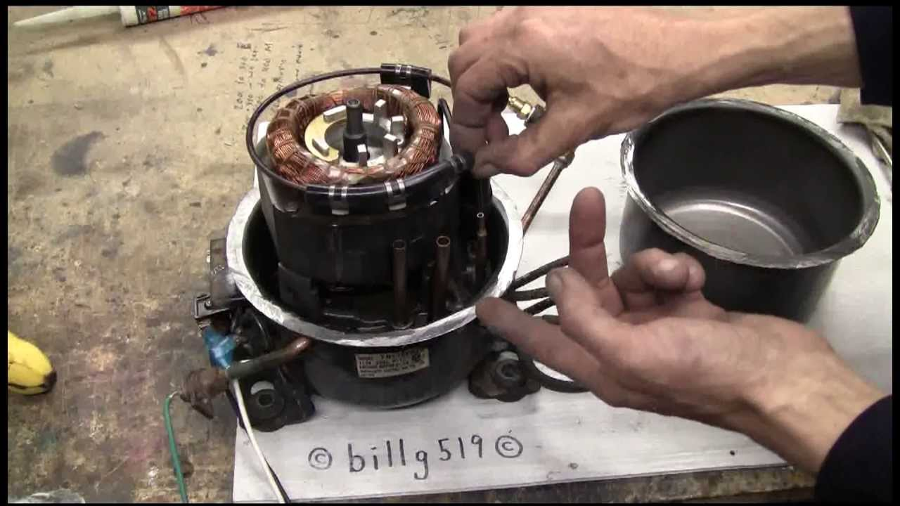 Air Cannon 74 Compressor Failure And Rebuild Youtube