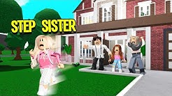 My Step Sister Was SPOILED. Our Family Kicked Her Out! (Roblox Bloxburg)