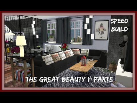 Sims 4 - Speed Build - The Great Beauty 1ªParte