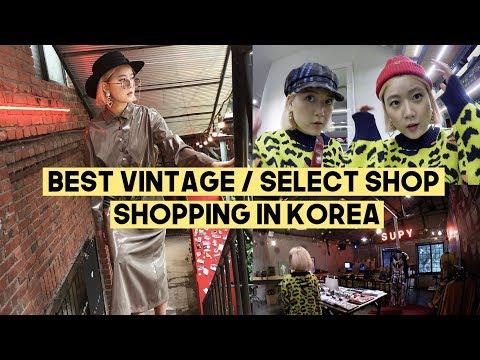 Shopping in Korea: BEST Retro/Select Shop | Q2HAN