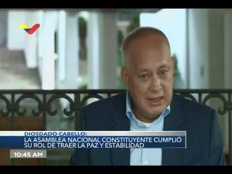 Diosdado Cabello: Yo creo que no va a haber una nueva Constitución
