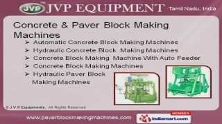 Building & Construction Machines by J. V. P. Equipments, Coimbatore