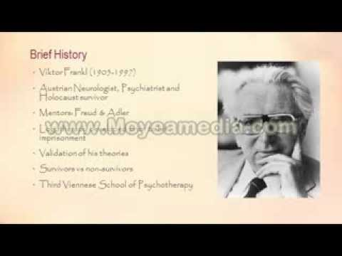 viktor frankl an overview of logotherapy Logotherapy is composed of three basic principles the first basic principle is that life has meaning in all circumstances, even despondent ones the second principle is that the main motivational force is the desire to find meaning in life lastly, the third basic principle states that humanity has.