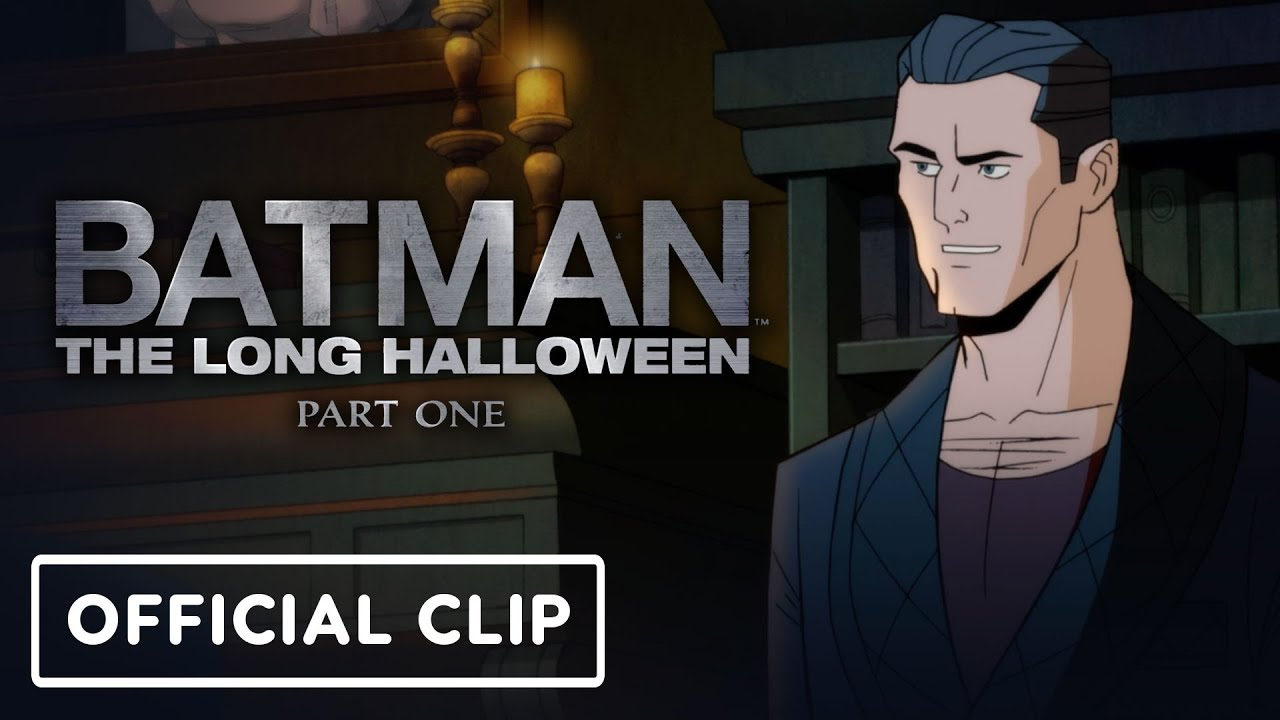 Batman: The Long Halloween, Part One - Official Clip (2021) Jensen Ackles, Alastair Duncan