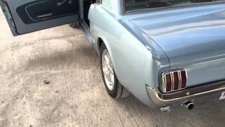 66 Mustang Silver Blue Additional