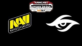Navi vs Secret Game 1 MC Autumn Brawl Highlights Dota 2