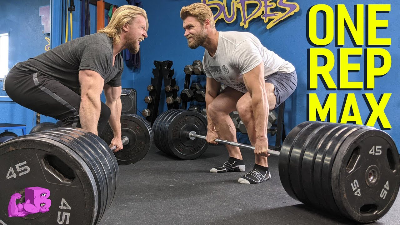 STRENGTH TEST - We Try Our ONE REP MAXES!! | BULK BROS
