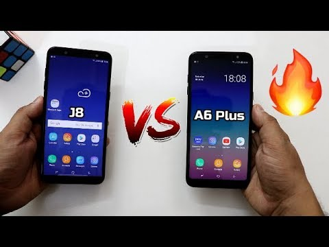samsung galaxy j8 vs a6 plus comparison and speedtest i. Black Bedroom Furniture Sets. Home Design Ideas
