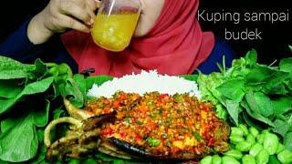 PEDAS GILAA..!! SOTONG JUMBO MANDI CABE || ASMR INDONESIA