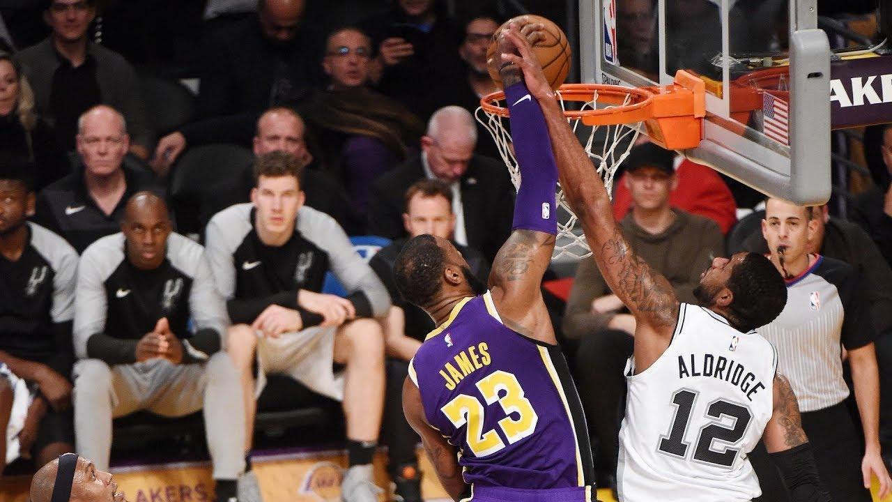 4dcc6347fb31 NBA San Antonio Spurs vs Los Angeles Lakers Dec 5
