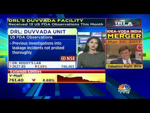 DRL's Duvvada Facility Receives 13 US FDA Observations