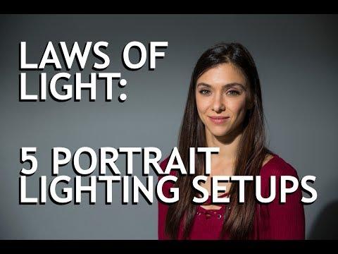 Laws of Light: 5 Portrait Lighting Setups