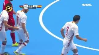 Resumen Azerbaiyán 2-4 España | Mundial Fútbol Sala Colombia 2016