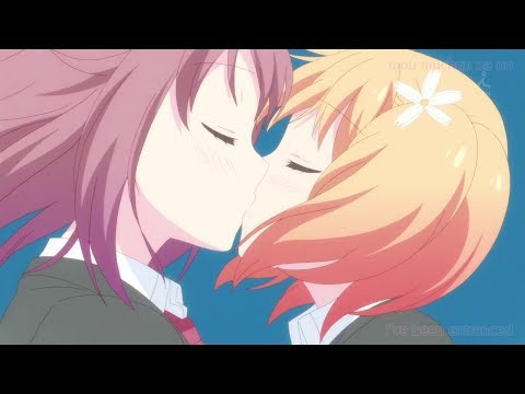 Sakura Trick 桜Trick OP / Opening 「Won(*3*)Chu KissMe!」Waifu2x 4k