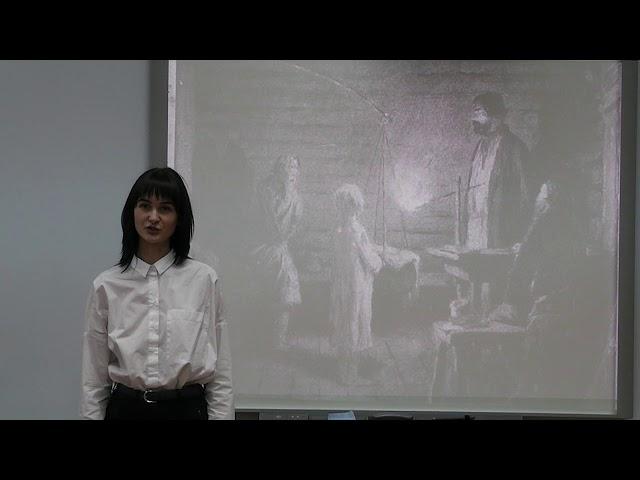 Изображение предпросмотра прочтения – ИринаАндреева читает произведение «Бирюк» И.С.Тургенева