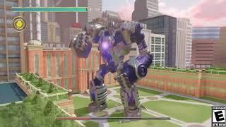 KNACK 2 - Xander Boss Fight Gameplay