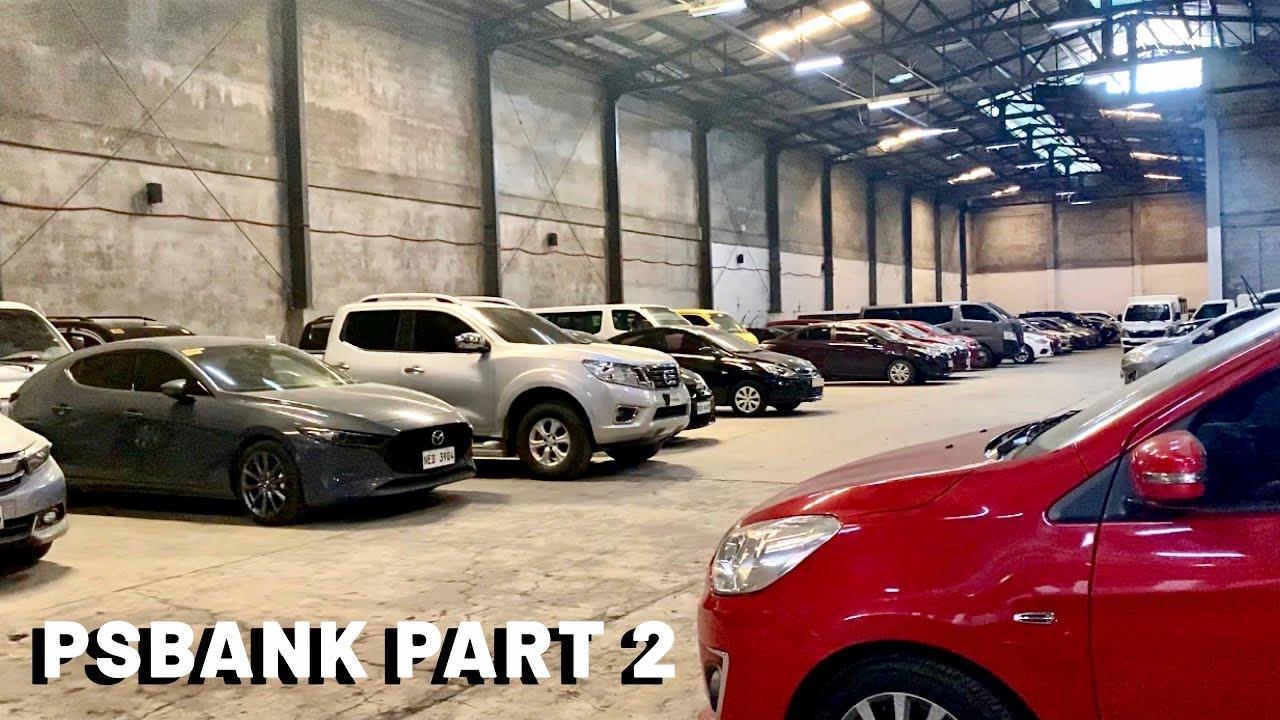 Psbank Repossessed Cars Suvs Vans Pick Ups Youtube