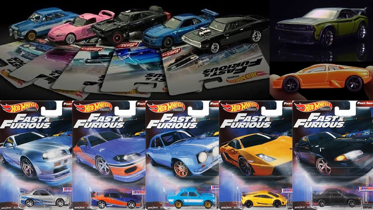 new 2019 hot wheels fast furious premium sets and mix. Black Bedroom Furniture Sets. Home Design Ideas