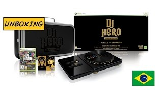 [Unboxing] Xbox 360 DJ Hero Renegade Edition PT-BR