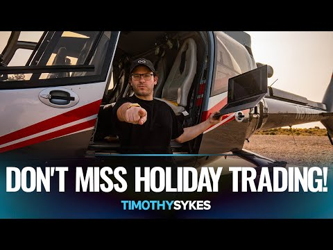 How To Take Advantage of Holiday Trading RIGHT NOW