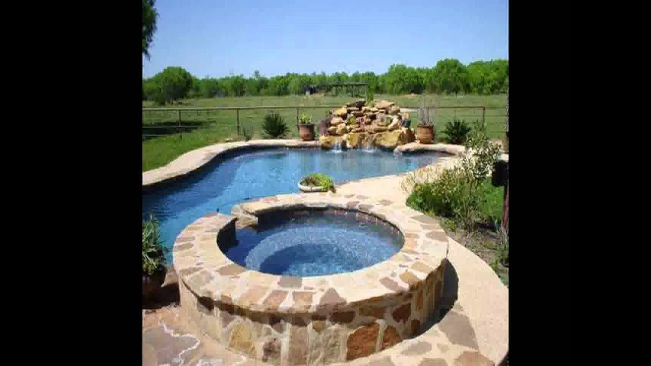 New Inground Pool Landscaping Ideas   YouTube