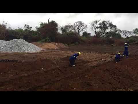 Breaking Ground at Mukwashi Trust School