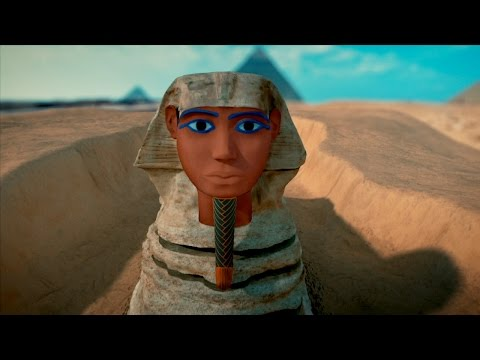 What Did The Sphinx Look Like Originally? We've Recreated It For You!