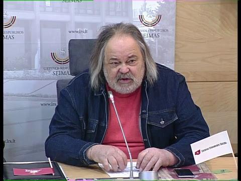 2019-03-22 Signataro Zigmo Vaišvilos spaudos konferencija