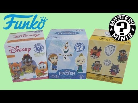 IL A DES YEUX BIZARRES - FUNKO MYSTERY MINIS DISNEY & LOONEY TUNES