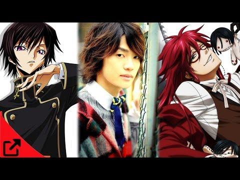 Top Japanese Male Voice Actors 2015