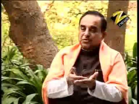 Part 2/2 - Zee TV कहिये जनाब में Subramanian Swamy (हिंदी)