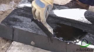 видео Случаи применения битумной мастики
