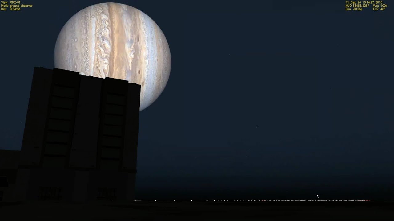 If Jupiter Was Our Moon