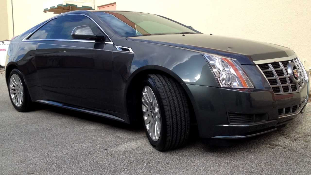 All Florida Tinting Co 2012 Cadillac Cts Coupe Youtube