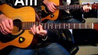 Любэ - Ты неси меня река Тональность ( Am ) Песни под гитару