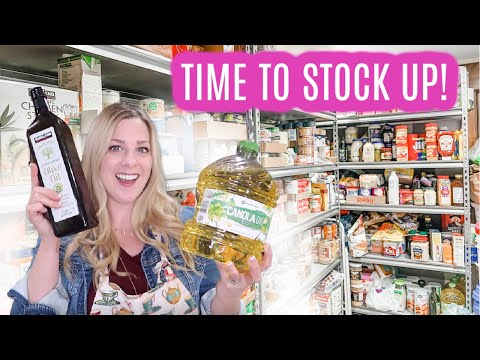 October Food Storage Plan, TIME TO STOCK UP!