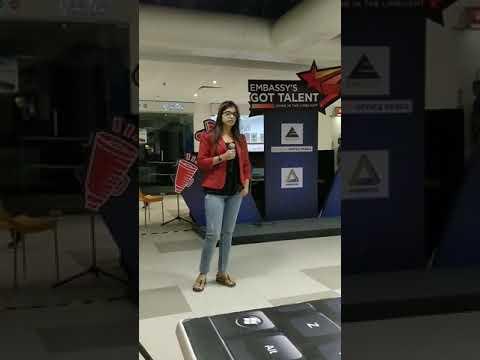 Embassy Got Talent Bangalore Auditions Shikha Singer Lukka Chuppi