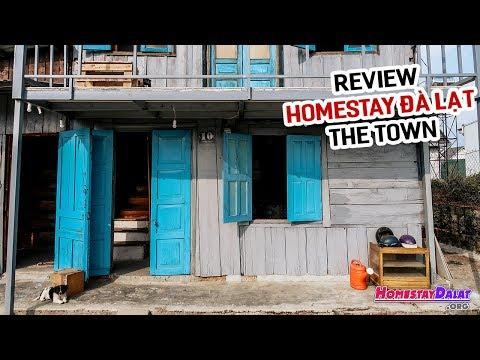 Review The Town Homestay Đà Lạt | Ngôi Nhà Gỗ Vintage Thú Vị