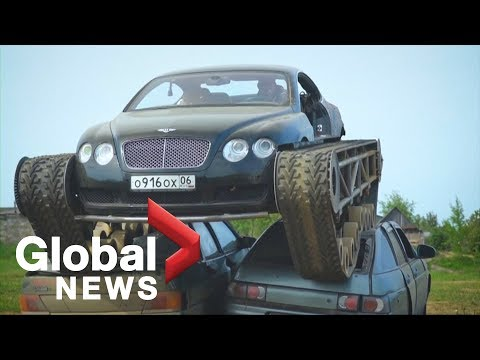 Tanner and Drew - Who Put Tank Tracks On A $200k Bentley?