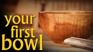Turn Your First Bowl - A video class on bowl turning.
