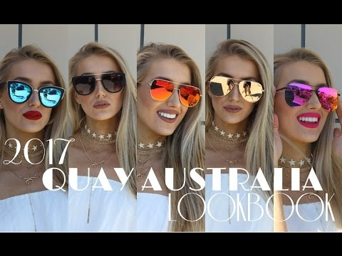 2017 QUAY AUSTRALIA SUNGLASSES LOOKBOOK!