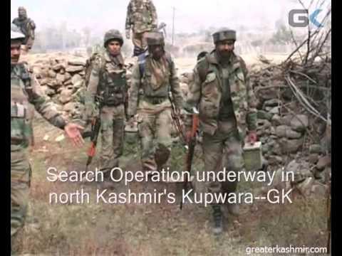 Search Operation underway in north Kashmir's Kupwara