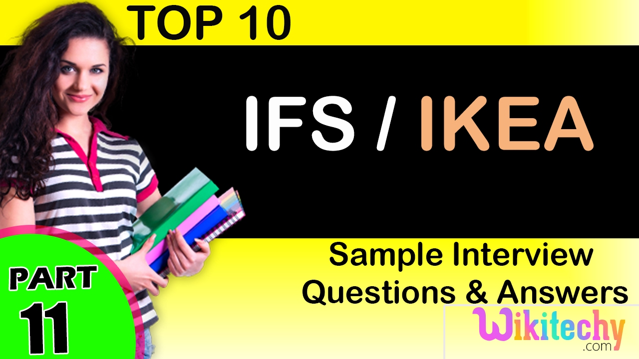 ifs ikea top most interview questions and answers for freshers ifs ikea top most interview questions and answers for freshers experienced tips online videos