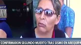 CANAL N  EJERCITO Y GOBERNADORA AREQUIPA VISITARON ZONAS AFECTADAS