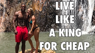 Living Large For Cheap | Swimming With Sharks?! | Koh Samui & Koh Phi Phi Islands | Thailand Finale