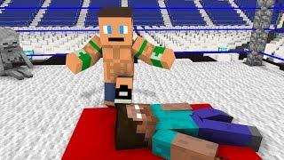 - Monster School WWE Wrestling Challenge Minecraft Animation