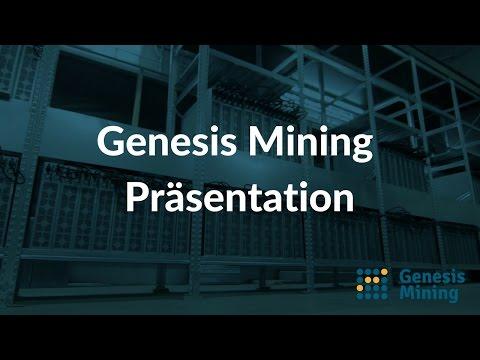 Genesis Mining Auszahlung