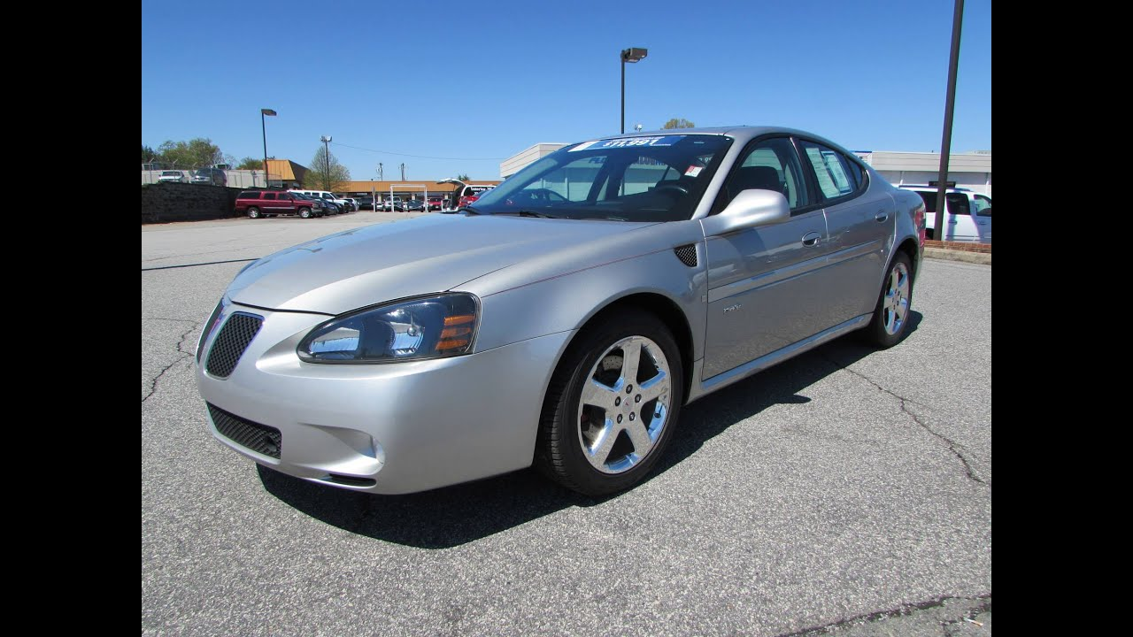 Grand Pre Car >> 2008 Pontiac Grand Prix Gxp V8 Start Up Exhaust And In Depth