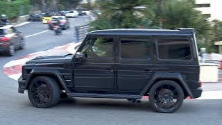 LOUD BRABUS G-Wagons Making Some Noise in Monaco!!